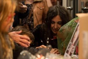 signant cd's al final del concert