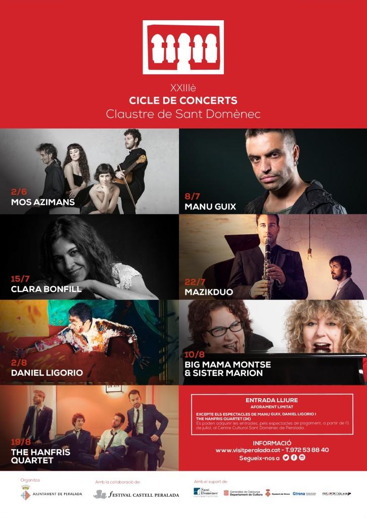 Clara Bonfill concert Peralada 15 juliol 2018