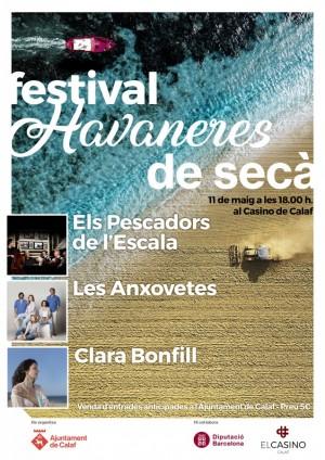 cartell festival havaners de secà, Calaf 2019 Clara Bonfill