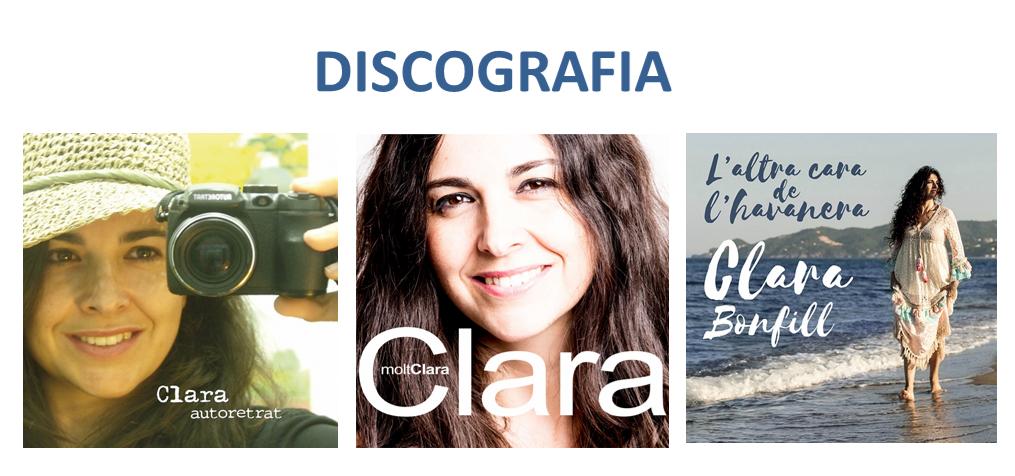 discografia Clara Bonfill