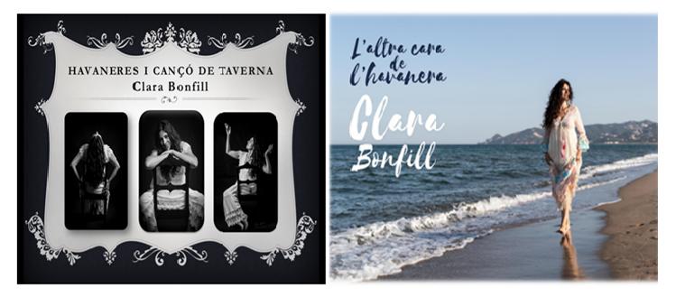 portada espectacles havaneres Clara Bonfill