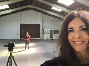 selfie Clara i Saiko videoclip respira