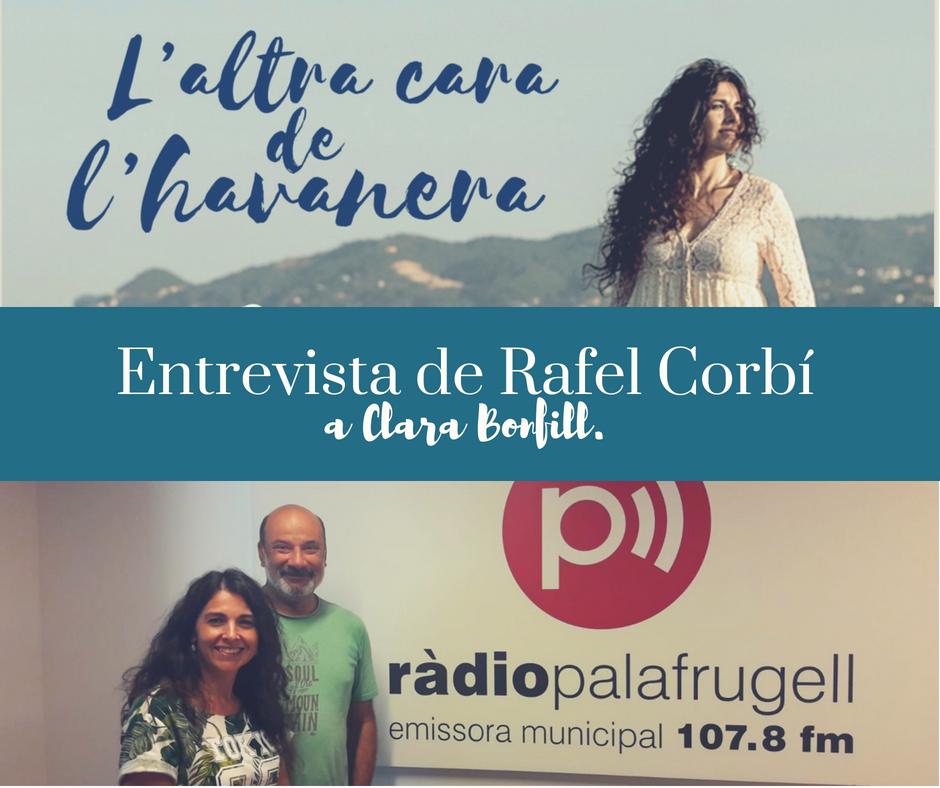 entrevista Ràdio Palafrugell a Clara Bonfill