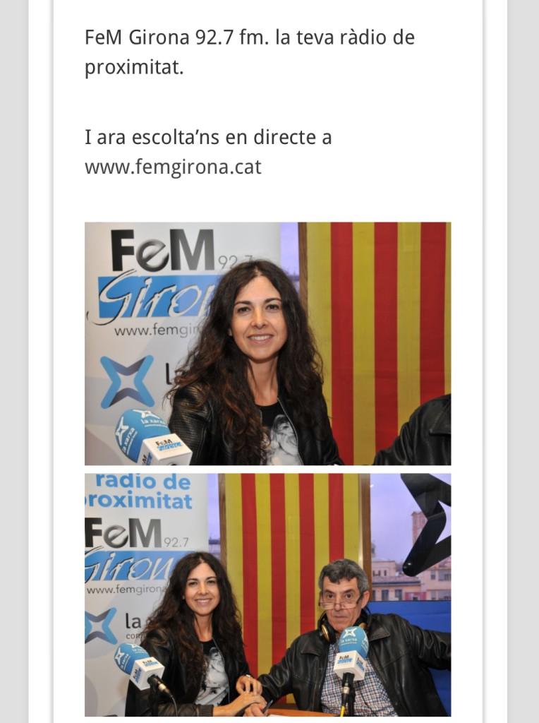 girona ara entrevista Clara Sánchez-Castro 5 oct 2015